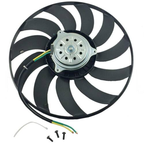 Radiator Cooling Fan Motor Assembly Left 400W for Audi A4 A6 02-09 8E0959455L