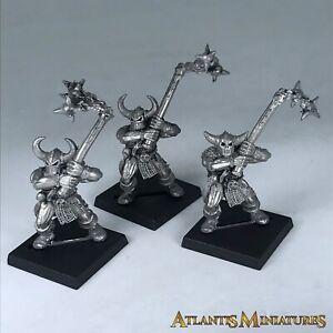 Metal Chaos Marauder infantería X3-Warhammer edad de Sigmar X2047
