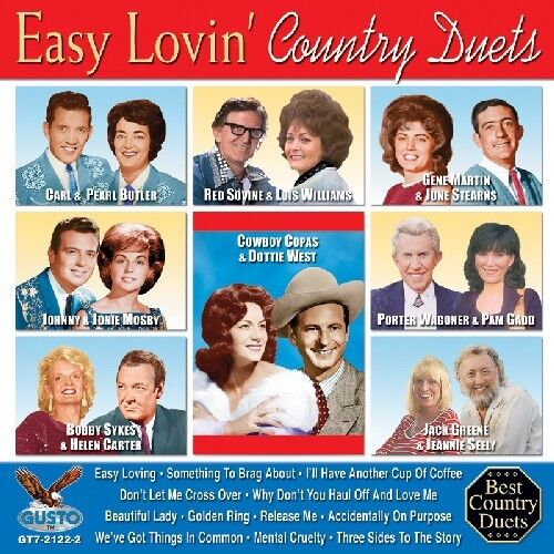 Various Artists - Easy Lovin: Country Duets / Various [New CD]