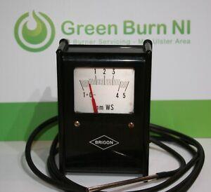 Used-Brigon-Analog-Draft-Gauge-Hetas-Oil-Burner-Chiney-Sweep-Flu-Draught