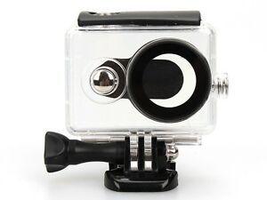 40M-Waterproof-Diving-BackUp-Case-w-Flat-Mount-Base-For-Xiaomi-Yi-Sport-Camera-K