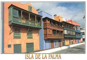 Spain-Isla-De-La-Palma-Balcones-Tipicos-Avda-Maritima