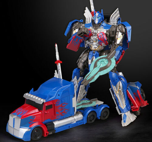 "Transformers 5 Movie The Last Knight V Optimus Prime 8/"" Action Figure Kid Gift"