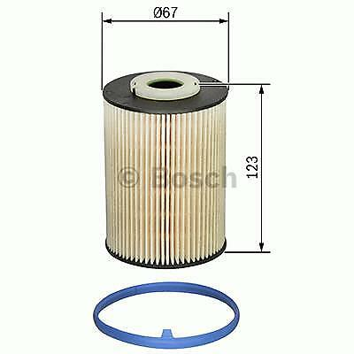 Bosch Genuine Replacement Fuel filter F026402829