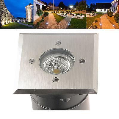 LED Boden Einbau Strahler Leuchten Spots Edelstahl IP67 230V Halogen TIERRA 1