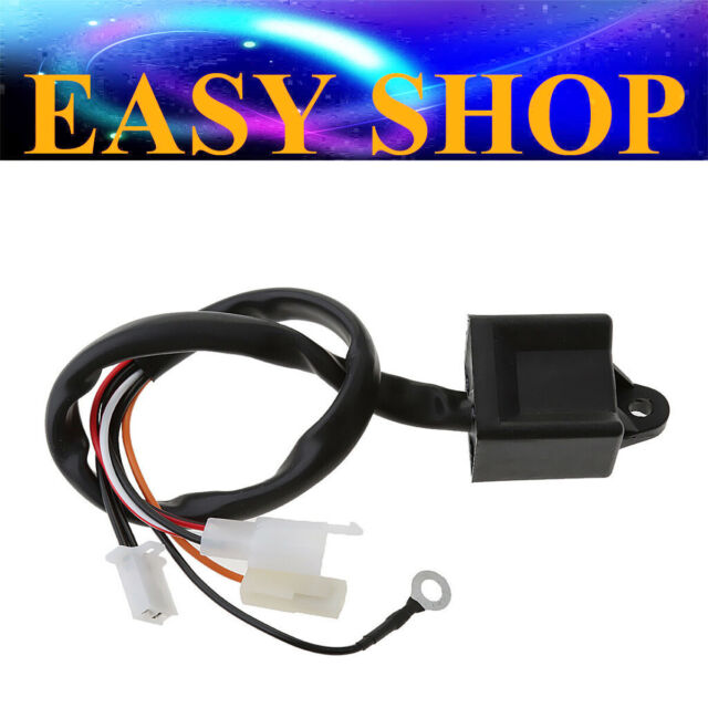 Black IGNITION COILS FOR Yamaha PW80 PW 80 PEEWEE80 Y-ZINGER 80CC Dirt Pit Bike