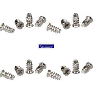 16-Stueck-5-x-10mm-Schraubenkit-fuer-Systemluefter-Gehaeuseluefterschauben-silber
