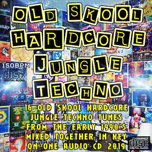Details about OLD SKOOL HARDCORE JUNGLE TECHNO 1990's dj MIXED CD NEW 2019  MUSIC MIX RAVE