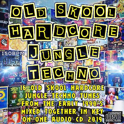 OLD SKOOL HARDCORE JUNGLE TECHNO 1990's dj MIXED CD NEW 2019 MUSIC MIX RAVE  | eBay