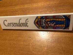 New-Rare-Corsendonk-Christmas-Ale-Beer-Ceramic-Tap-Handle-New