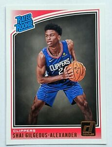 SHAI-GILGEOUS-ALEXANDER-2018-19-DONRUSS-RATED-ROOKIE-BASE-CARD-INVEST