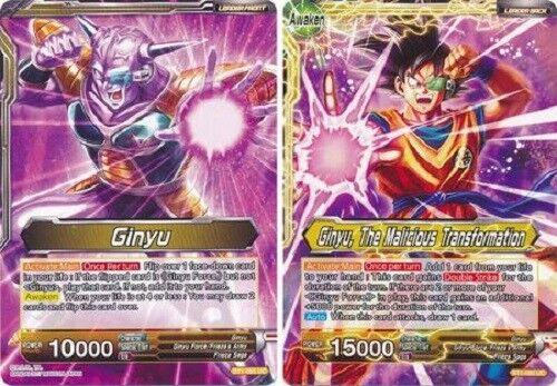 BT1-085 4x The Malicious Transformation Dragon Ball Super TCG 4x Ginyu Ginyu