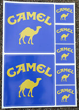 Camel rally race classic car bike 4x4 decals stickers
