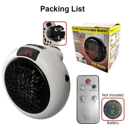 Ventilateur de chauffage pour la maison 900w Mini chauffage électrique