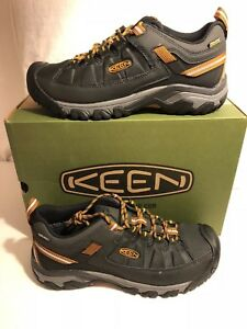 1e22f9ea0a Keen Targhee EXP WP Raven Inca Gold Boot Hiker Men s sizes 7-17 NEW ...