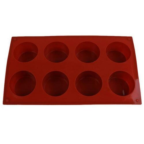 Silicone Muffin Cupcake Baking Pan  Candy Chocolate Pastry Cake Mold QK