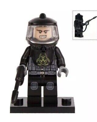 Anti-chemical Nuclear Biohazard Suit Zombie Figure For Custom Lego Minifigures
