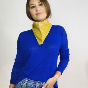 Vince Linen Knit Long Sleeve Top Women's Size Small
