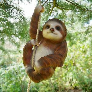 Climbing-Sloth-Tree-Hanging-Garden-Tree-Ornament-Statue-Sculpture-Decoration