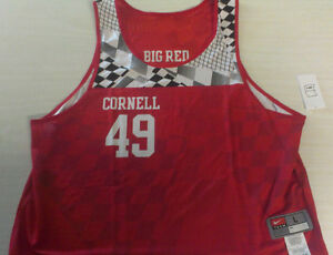 Lacrosse Cornell Big Red Nike jersey size Large Mens