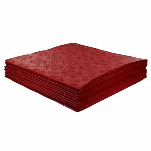 200 x Rouge Jetable Papier Nappes De Table, couvre 90 x 88 cm parties mariages