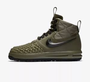 san francisco 429b0 c548e Image is loading NIKE-LUNAR-FORCE-1-DUCKBOOT-039-17-OLIVE-