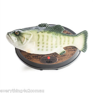 Big mouth billy bass the singing sensation wall mounted for Talking fish on wall