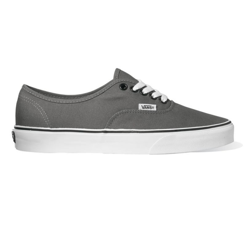 VANS - Authentic - Grau  Schwarz - Schuhe Sneaker - NEU - JRAPBQ - Gr.: 37 - 48