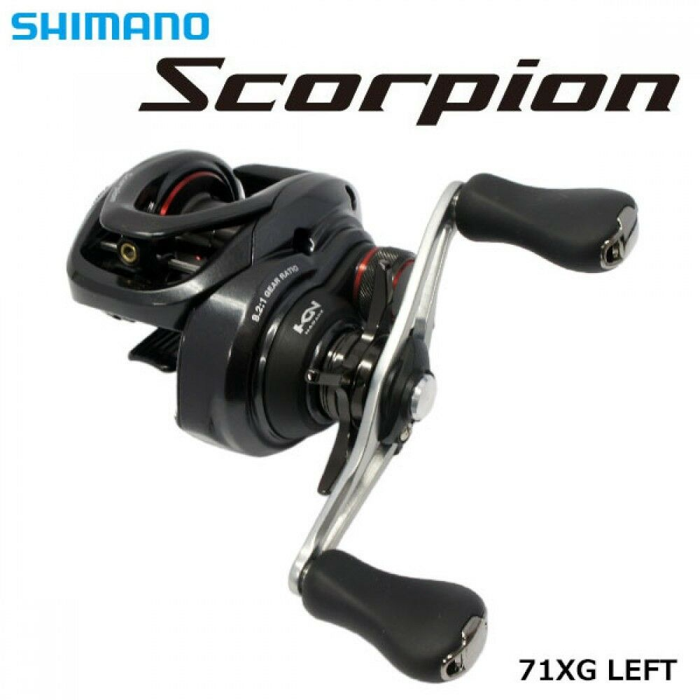 Shimano 16 Scorpion 71 Left Handle Baitcasting Reel New F S with Tracking