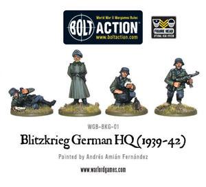 Warlord Games BNIB Blitzkrieg German HQ (1939-42) WGB-BKG-01