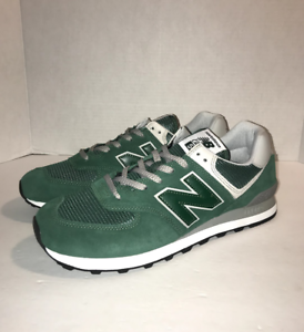 watch 90aa6 a9164 Details about New Balance Classics 574 ML574EGR Forest  Green/White/Grey/Black Men's 12 10.5