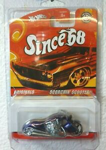 Hot Wheels Since 68 Originals SCORCHIN SCOOTER  LOOSE NEW