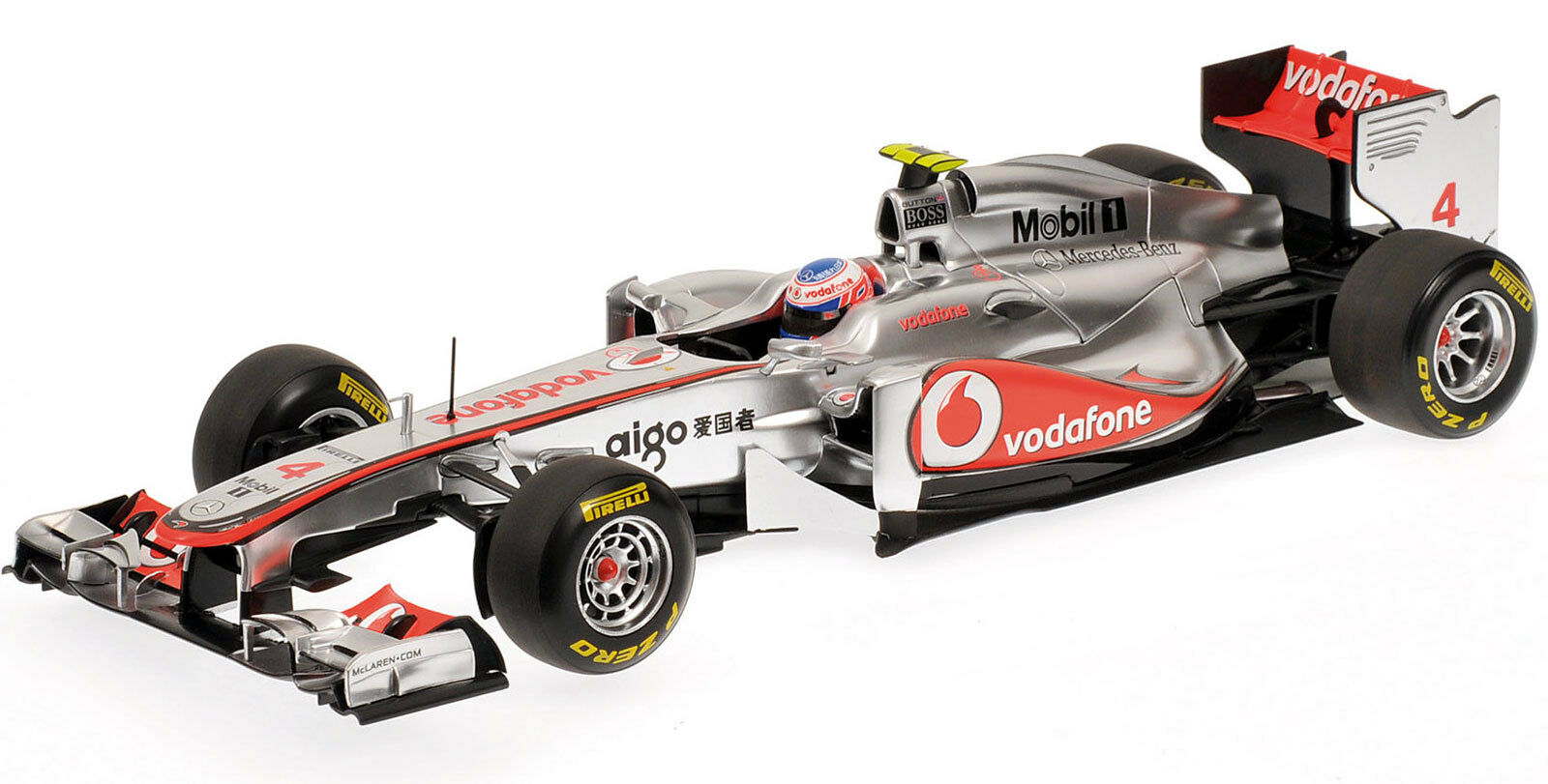 alta qualità genuina MINICHAMPS 1 18 2011 2011 2011 VODAFONE MCLAREN MERCEDES MP4-26 JENSON BUTTON 530111804  80% di sconto