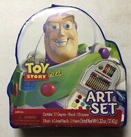 Disney Pixar Toy Story 33 Piece Art Set / Buzz Lightyear.