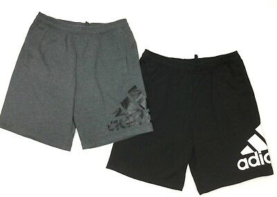 Adidas Mens Essentials Chelsea French Terry Athletic Jogging Running Gym Shorts