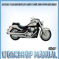 suzuki vlr1800 boulevard c109r 2008 onward bike repair service rh ebay com au Suzuki GSX1300R Suzuki Marauder