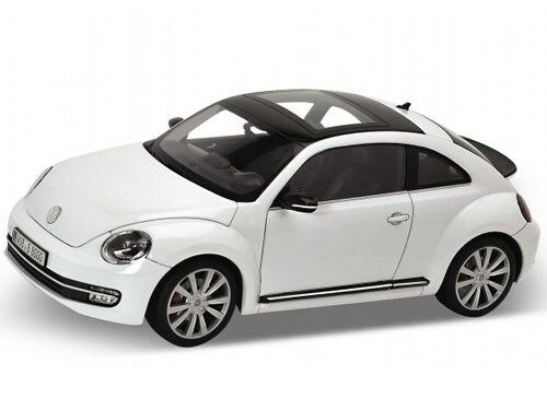 Welly 2012 Volkswagen New Beetle blancoo 1 1 1 18 Diecast Model Car 18042 2452e9