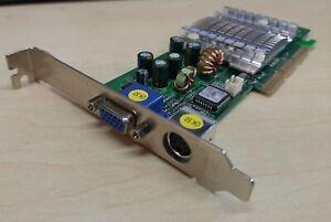 CARTE-VIDEO-AGP-NVIDIA-GEFORCE-FX5200-128MB-DDR-TV