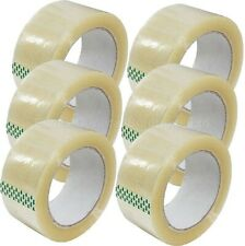 Packing Clear Tape Parcel Strong 48mm X 66m Box Sealing Sellotape Packaging