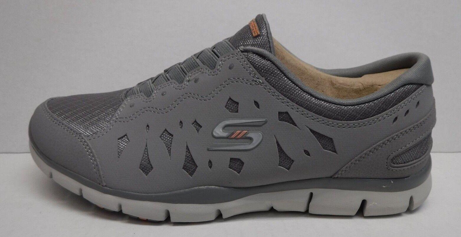Skechers Skechers Skechers Flex Talla 7 gris Zapatillas nuevo Zapatos para mujer 21e7e7