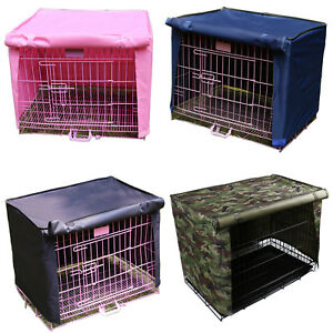 Pet Cage Covers Waterproof Windproof Kennel Cloth for Cat Carrier Dog Crate