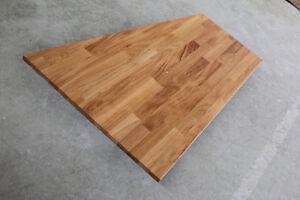 Tischplatte massivholz eiche  Tischplatte Regalbrett Platte Eiche Keilgezinkt Massiv Holz ...