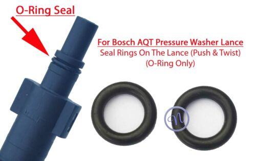 Bosch AQT extremo macho lanza agua a presión de 2 Sellos De Goma O-ring Lance final