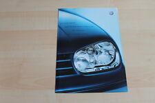 80116) VW Golf IV + Variant - Sport Edition - Preise & Extras - Prospekt 04/2001