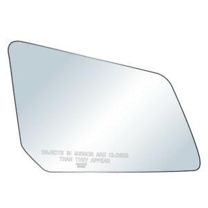 MIRROR-GLASS+ADHESIVE~POWER//MANUAL RIGHT PASSENGER SIDE See Compatibility List