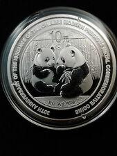 2009 China 1 oz Silver Panda BU (30th Anniversary)  - only 300,000 mintage!!!!