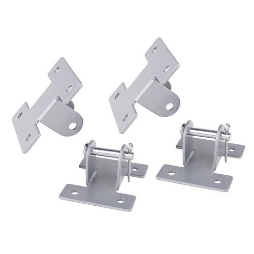 4 Stück Silber Nr Linearantrieb Montagehalterung 2