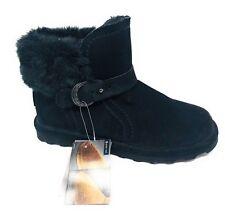 43ea799211a6a item 2 Bearpaw Women s Koko Bootie Black II Suede Faux Rabbit Collar Ankle  Boots Sz. 7 -Bearpaw Women s Koko Bootie Black II Suede Faux Rabbit Collar  Ankle ...