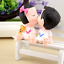 Cute 1Pair Resin Kiss Doll Boy Girl Car Cake Wedding Interior Accessories Decor
