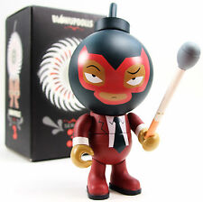 Jamungo BUDS Blow Up Dolls Series 3 - Muttpop RED DEMON Chase 2.3% Lucha Libre